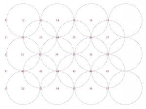 grid of a quadratic pattern 26