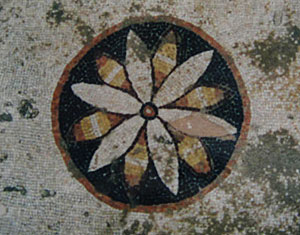 Six-leaved rosette in Delos